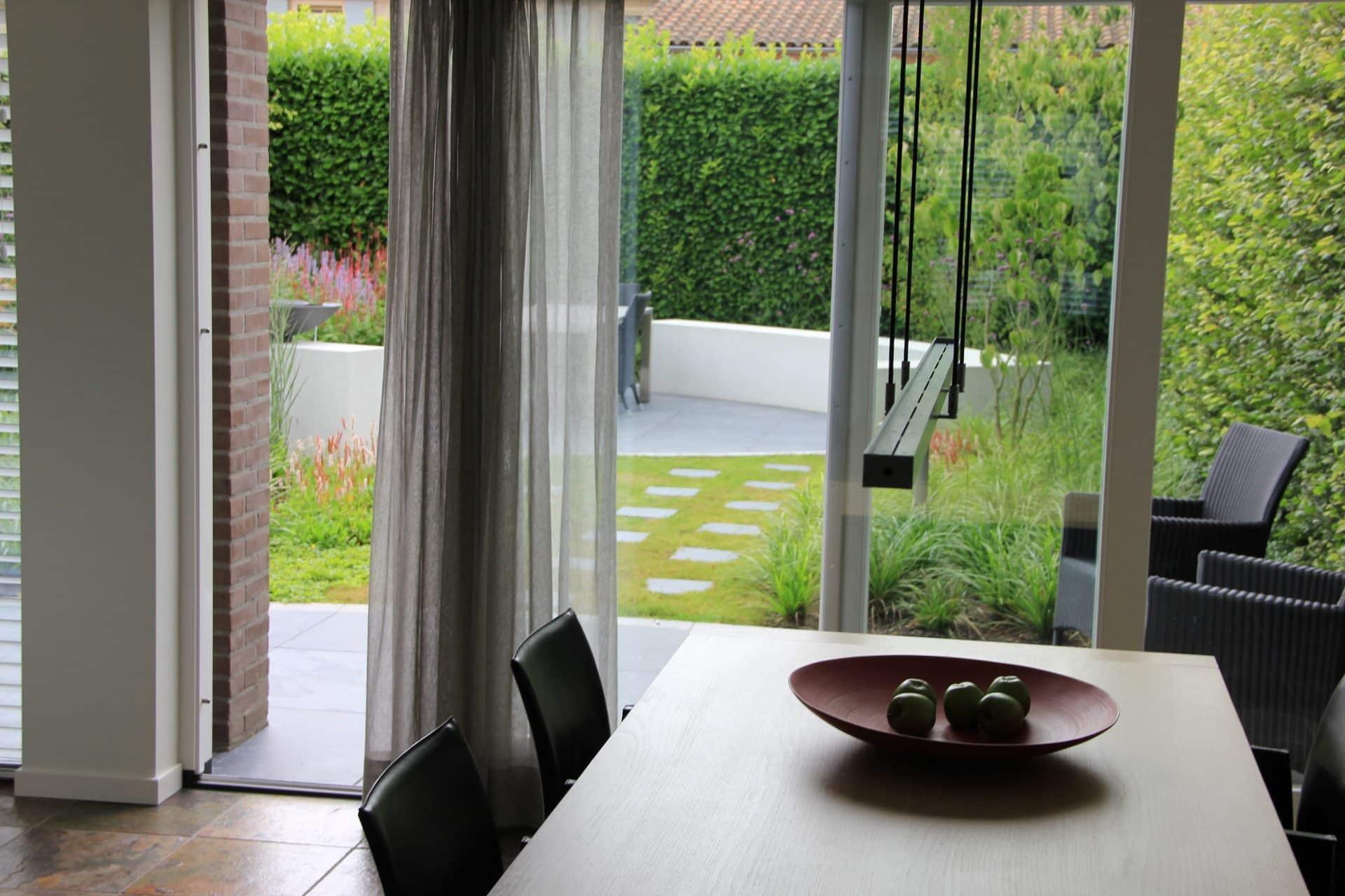Tuin als verlengstuk van woonkamer