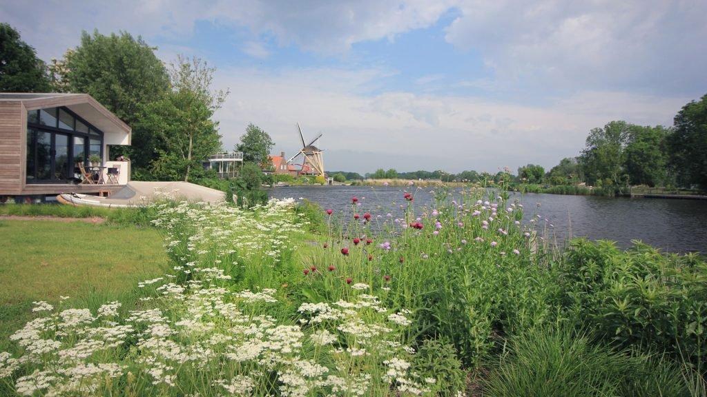Tuin woonark Vecht Jeroen Hamers