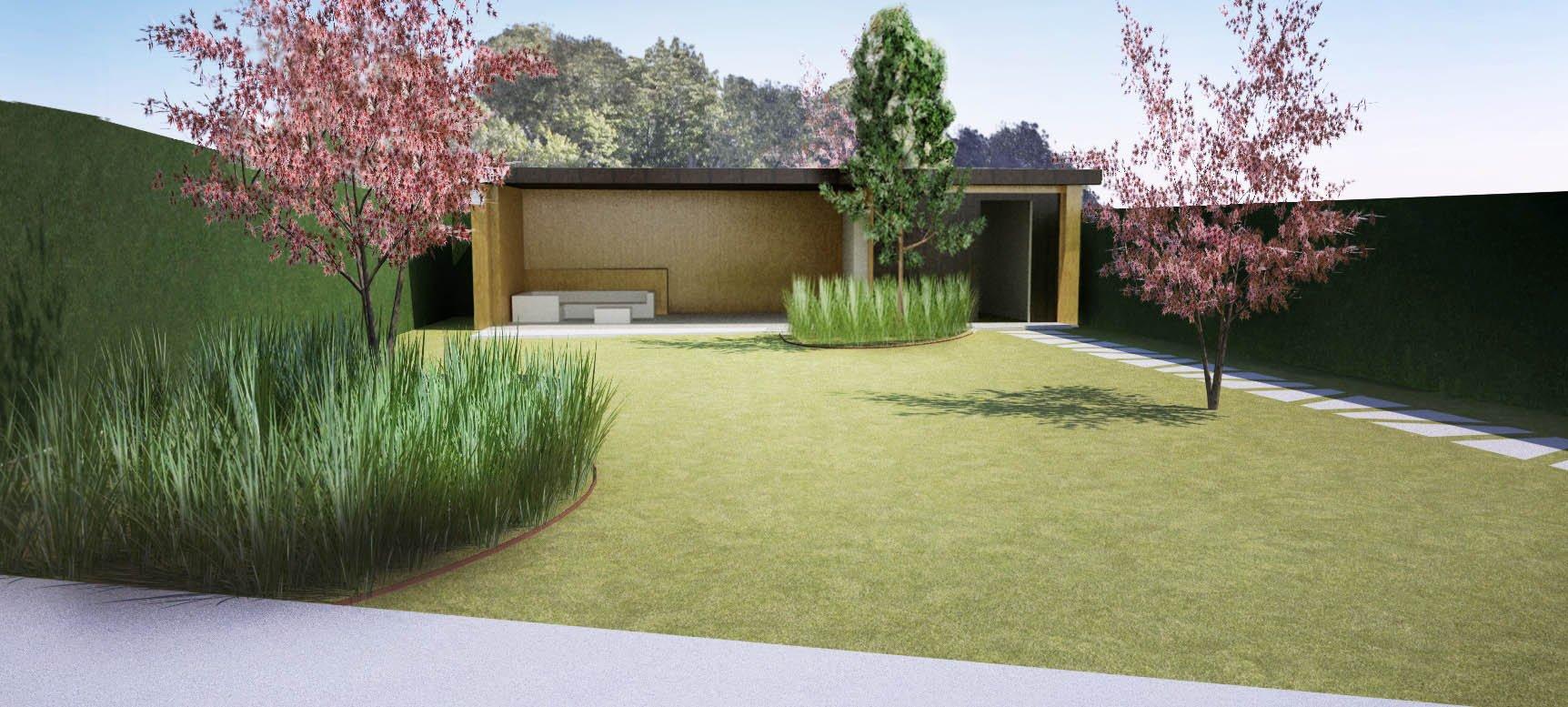Tuinontwerp 3D Bilthoven Jeroen Hamers