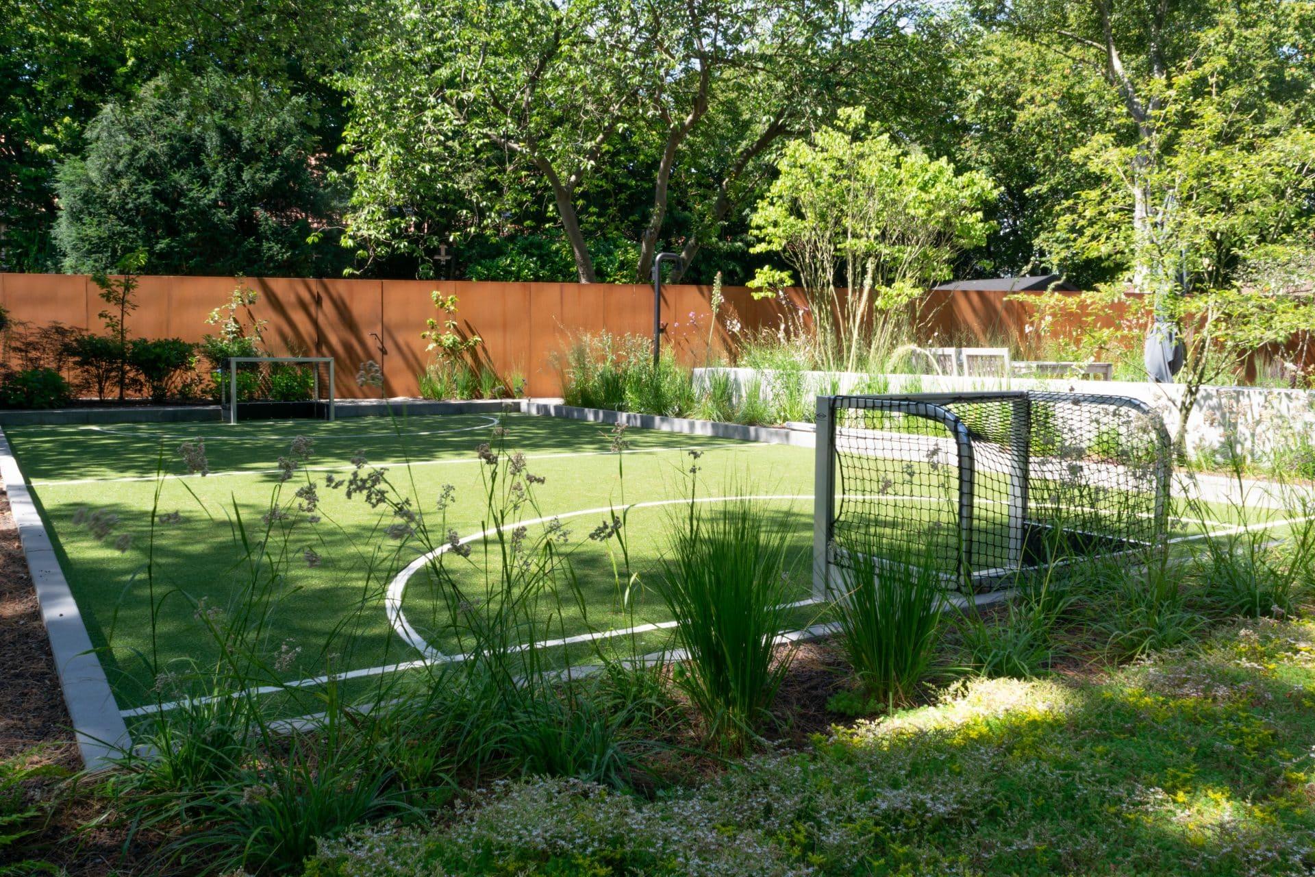 Tuin met speelveld Utrecht Jeroen Hamers